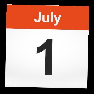 1st July 2017