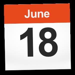 18th June 2017