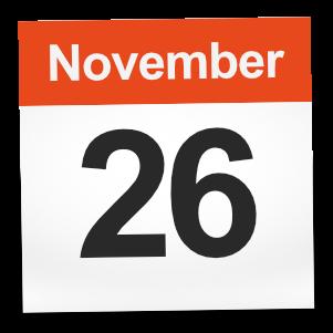 November 26th